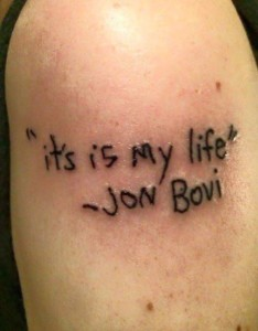 funny tato with poetry