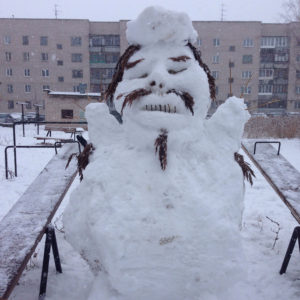 russian funny sculptures