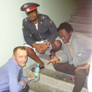 black russian police man