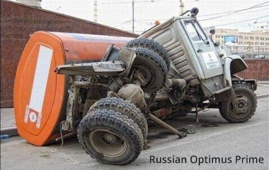 funny and tough Russian car